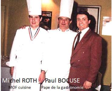 MICHEL ROTH & PAUL BOCUSE