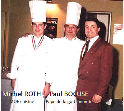 MICHEL ROTH & PAUL BOCUSE